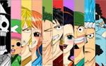 One Piece Strawhat Crew Fanart
