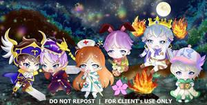 Lumina Guild(ragnarok) chibi commission