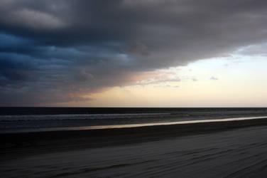 Beach Storm by creatrix