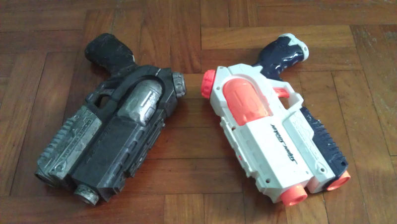 Custom Painted Nerf Guns (Looking for Offers) Answered