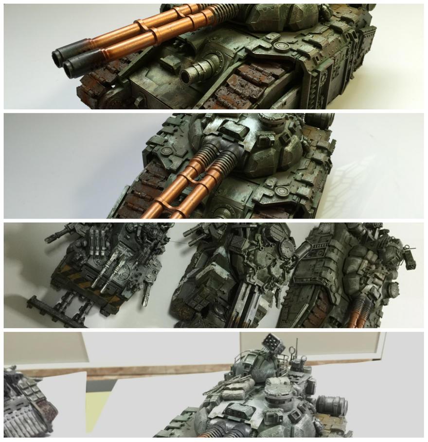 warhammer 40k collage by Joslau-Designs