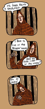 Saga of sasquatch pg1