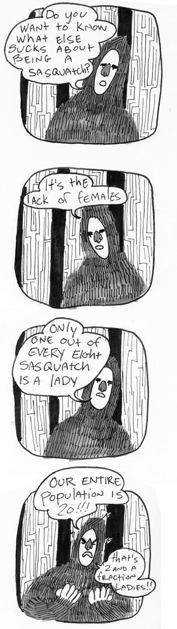 Saga of sasquatch pg2