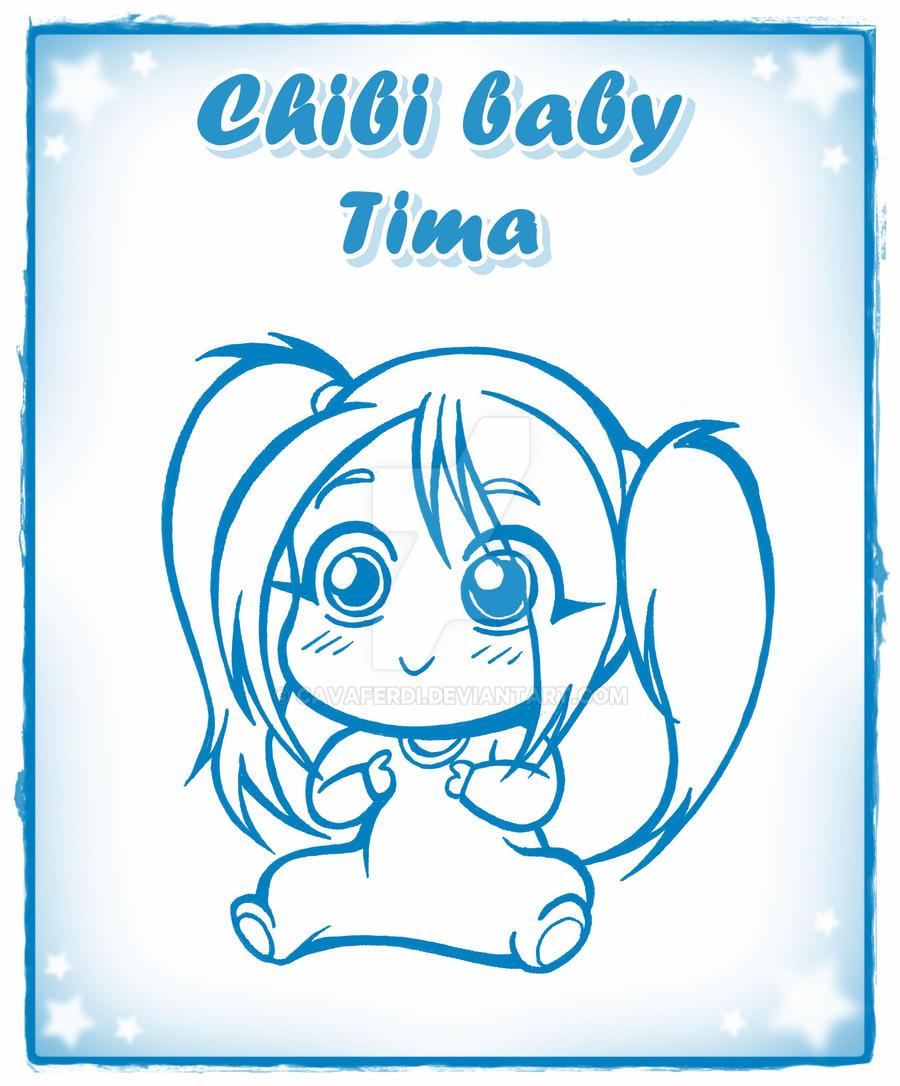 chibi baby tima by CAVAFERDI