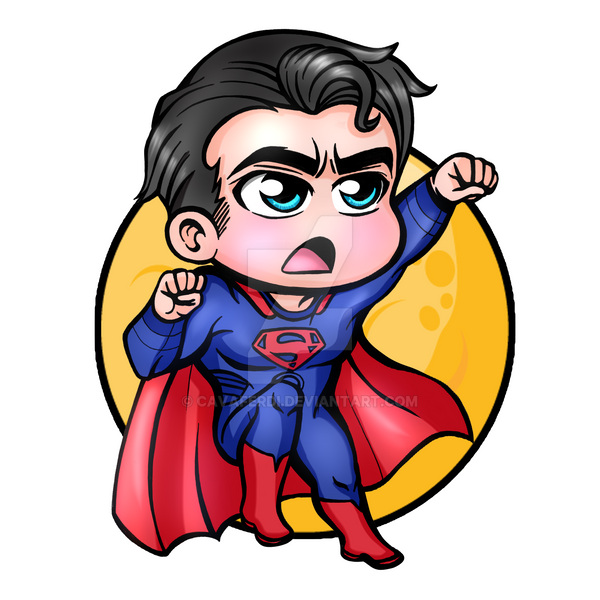 Superman chibi by cavaferdi on deviantart - Superman wonder woman cartoon ...