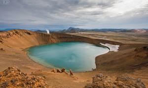 Iceland - Viti by RaumKraehe