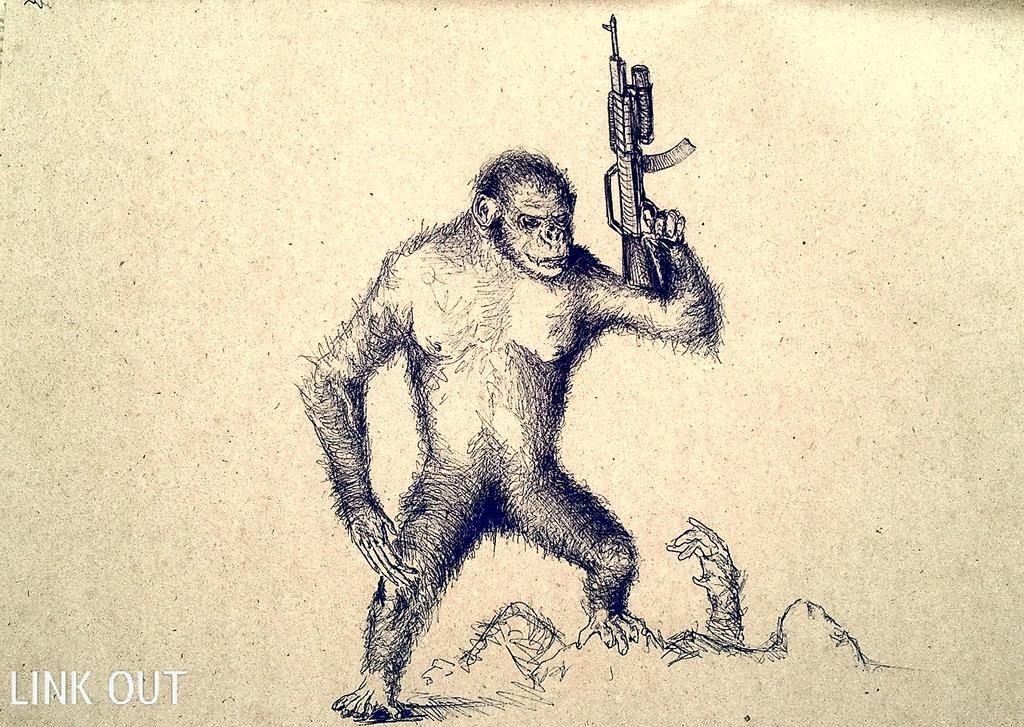 Apes Follow Koba Now.... by LINKOuTProduction