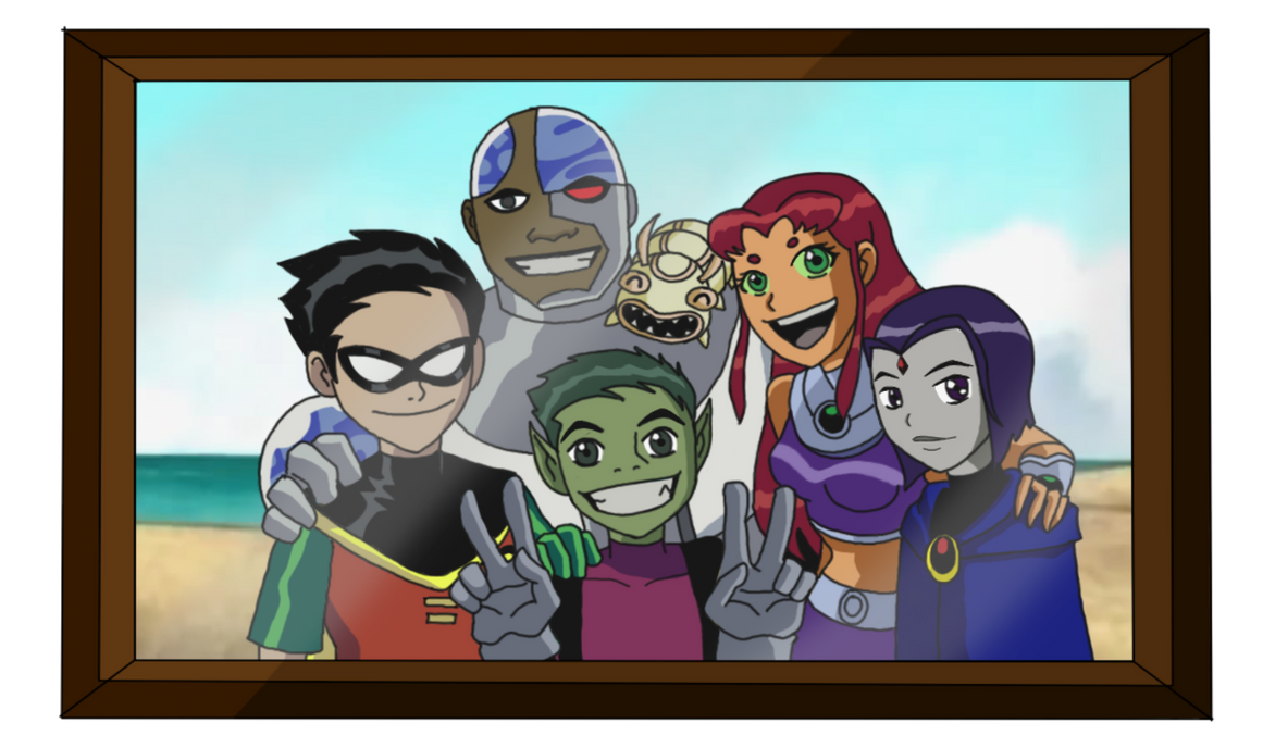 Teen Titans Family Picture by Danisauri