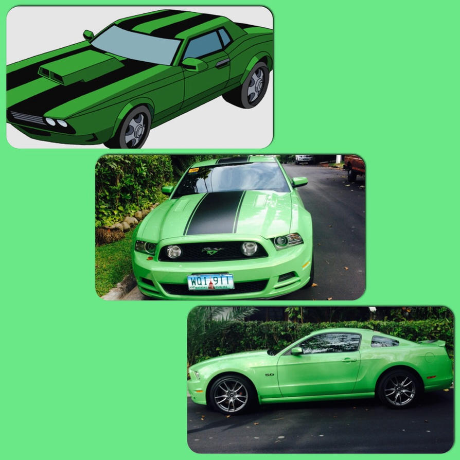 Kevin's Car (almost) Look-a-like By Danisauri On
