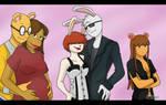 COMMISH - Arthur, Francine, Molly, Buster, DW