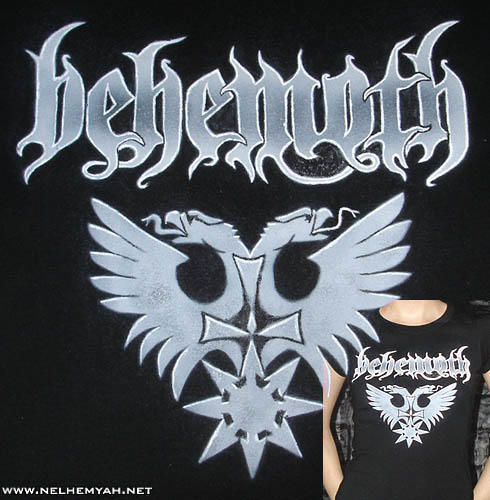 Behemoth T-shirt by Nelhemyah