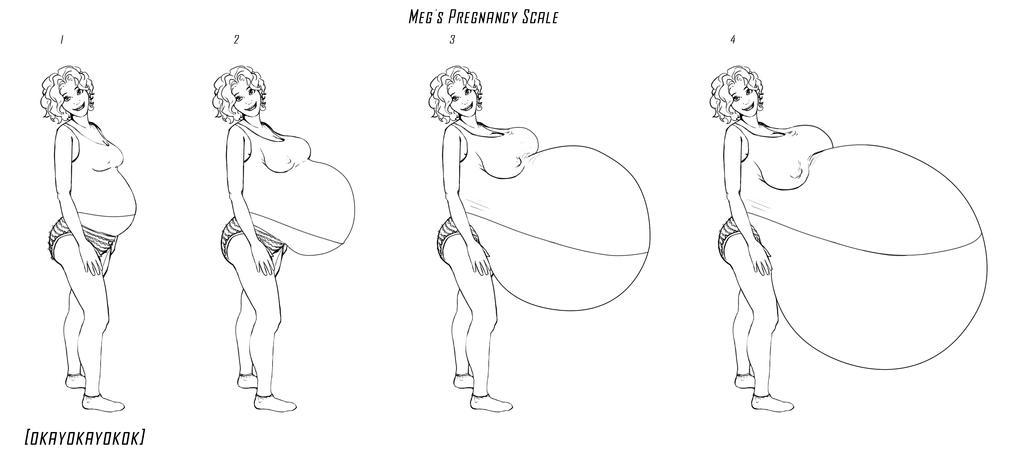 Megs Preg Chart By Okayokayokok On Deviantart