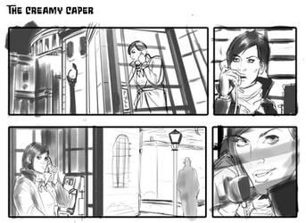 Tales from the Crib Keeper 6 progress shot by okayokayokok