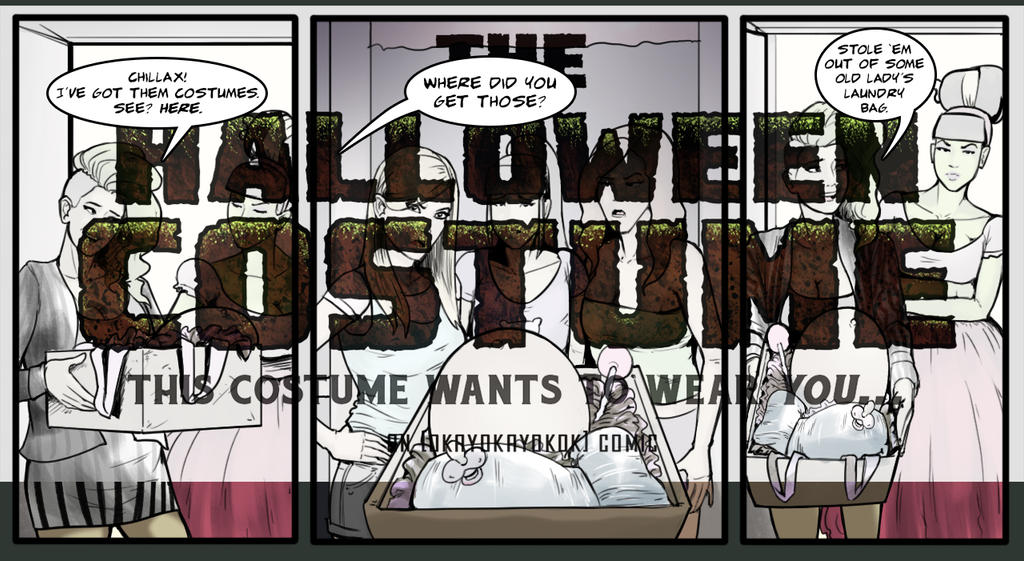 The Halloween Costume Pre-order by okayokayokok ...  sc 1 st  DeviantArt & The Halloween Costume Pre-order by okayokayokok on DeviantArt