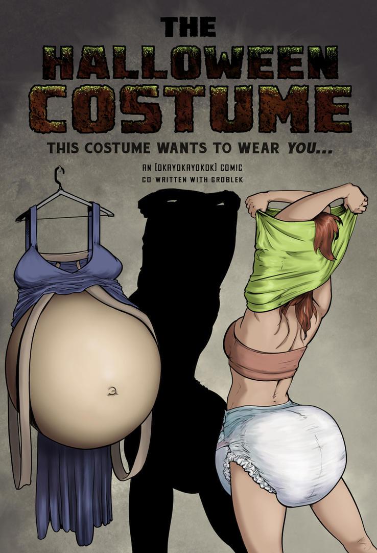 The Halloween Costume by okayokayokok on DeviantArt