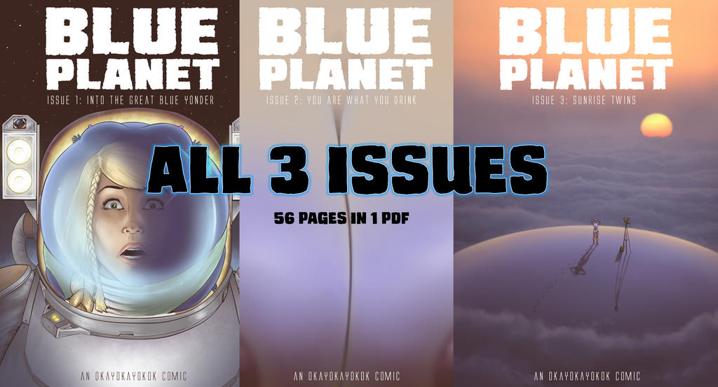 Blue Planet Volume all 3 issues