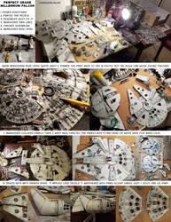 Millennium Falcon progression and breakdown guide by okayokayokok