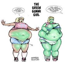 The Green Gummi Girl