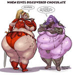 When Elves Discovered Chocolate