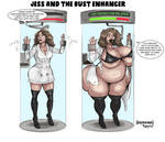 Jess and the Bust Enhancer