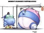 Wonka's Blueberry Popping Device