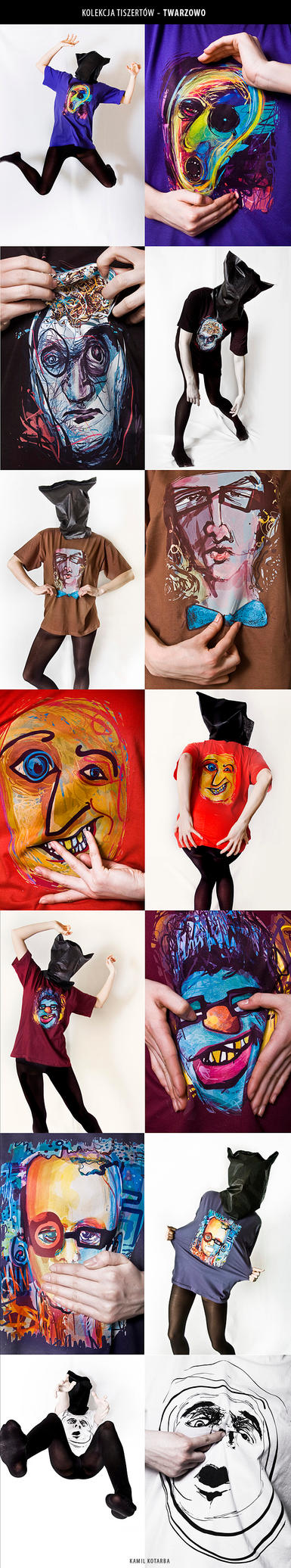 t-shirt collection. by kamilk