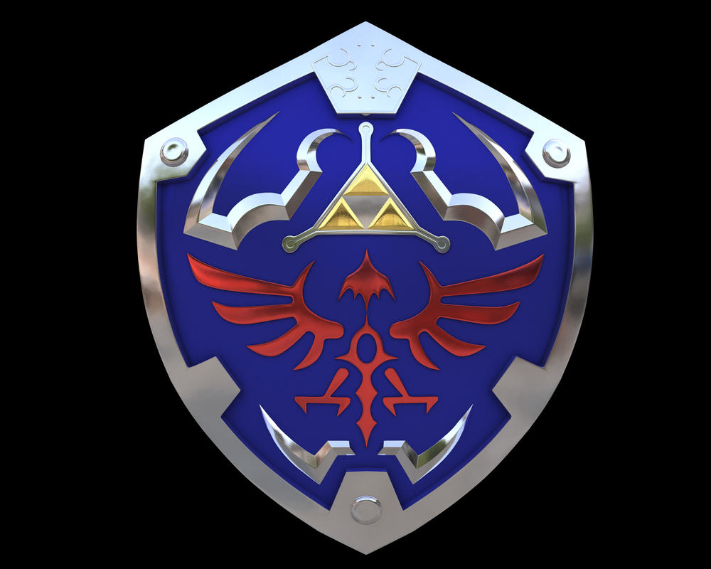 Zelda Hyrule Shield by iAkumu