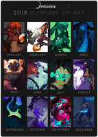 2018 Summary Of Art by Oxxidian