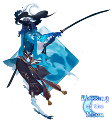 Blessing of the Moon - Browbird Auction!