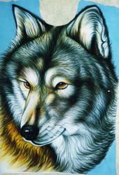 wolf by neekano