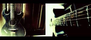 Antique Acoustic Guitar.