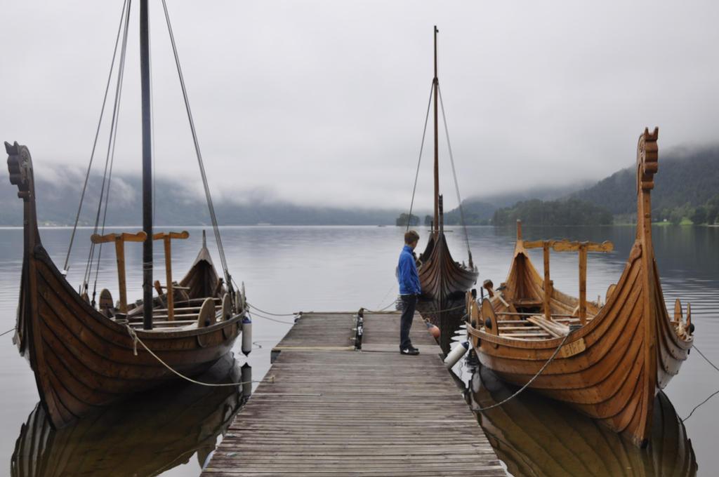 viking ships by Dracona666STOCK