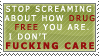 Drug free stamp by caedrin