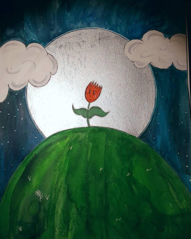 La fleur sous la lune by chichi1997