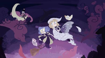 Witch Buddies [Wallpaper]