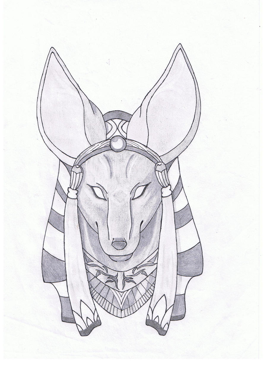Uncategorized Egyptian Gods Drawings anubis by lovet1991 on deviantart lovet1991