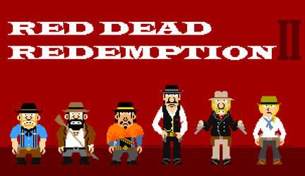 Red Dead gunman