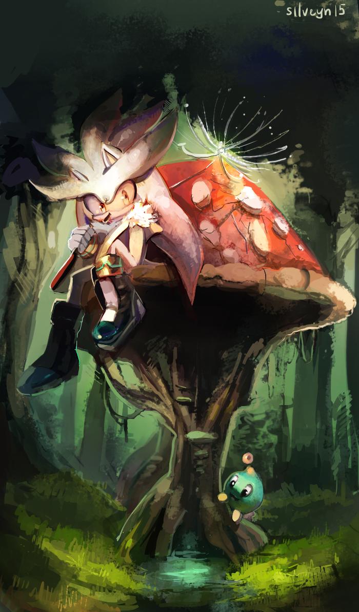 mushroom. by silveyn