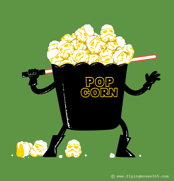 Pop Corn Kingdom by flyingmouse365
