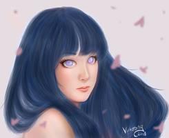 Hinata Hyuuga Semirealistic by Viphoong