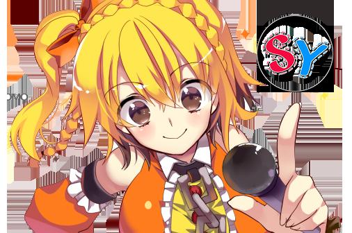 Kagerou Project Kisaragi Momo cute render png by SeikiYukine