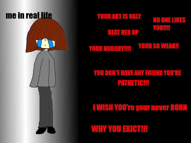 Don't Have Friend In Real Life Me In Real Life by manonminegamer
