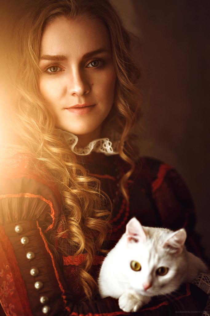 Russian lady V by AlexanderLoginov