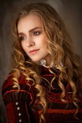 Russian lady VI by AlexanderLoginov