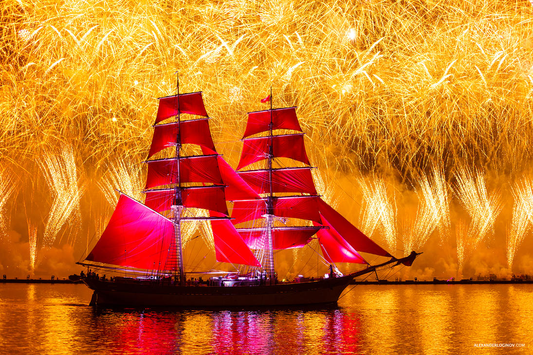 Scarlet Sails by AlexanderLoginov
