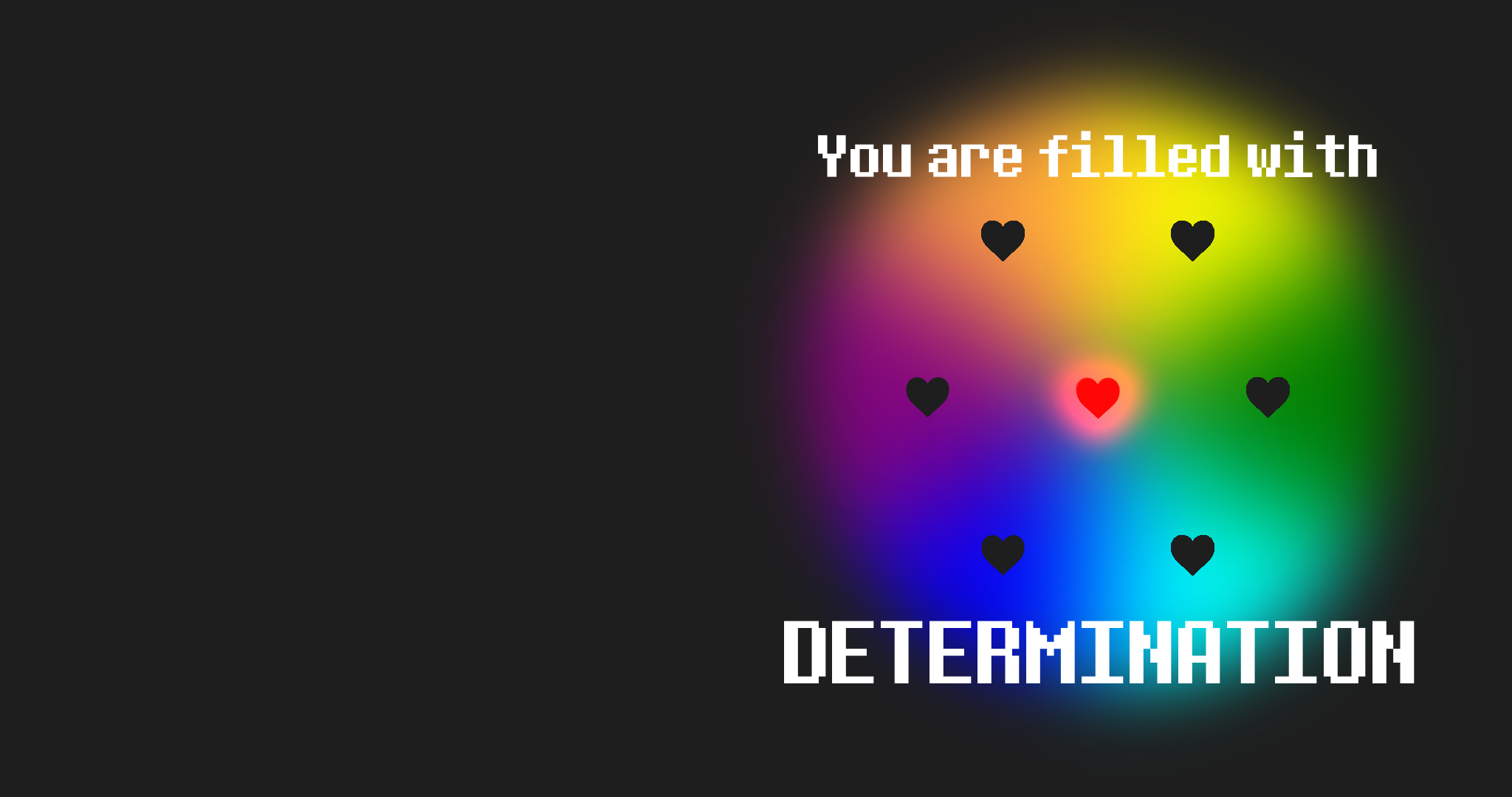determination undertale wallpaper pack by quinlinn