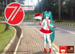 Indonesian 71st Independence Day Miku~