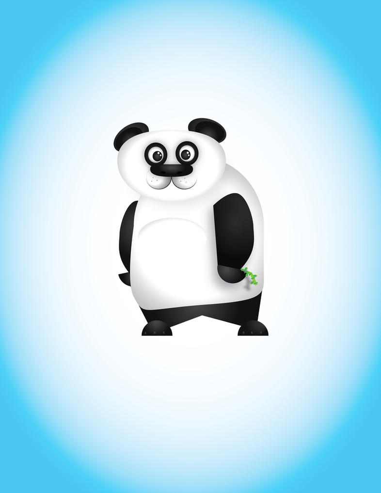 Panda by thndrhwk