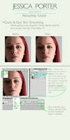 Porter Retouching's Quick and Easy Skin Smoothing