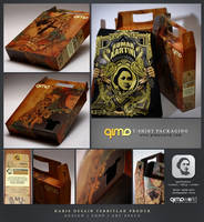 R.A. Kartini tees packaging by qimoworld